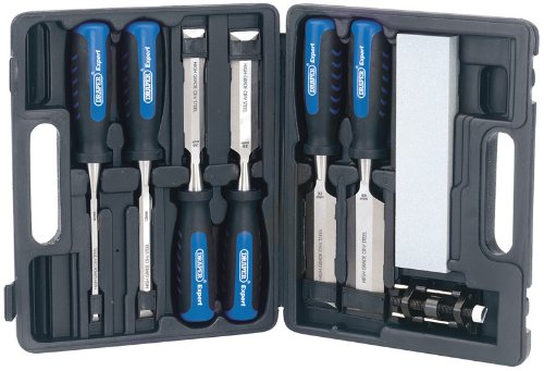 EXPERT-8-Stcke-Stechbeitel-KIT-Profiqualitt-bestehend-aus-sechs-Meiel-Klinge-Breiten-6-12-20-26-32-und-38-mm-Honen-Anleitung-und-Aluminum-oxide-Schrfstein-Meiel-haben-sich-ber-die-gesamte-Lnge-Messer-
