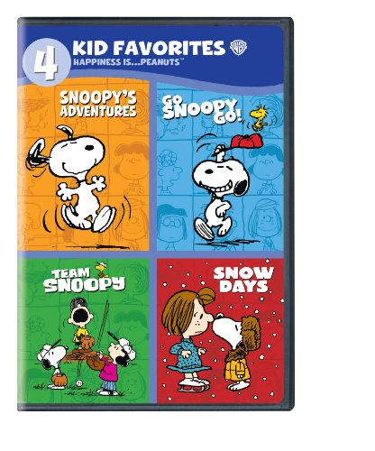 4 Kid Favorites: Happiness is... Peanuts (TM)