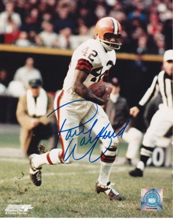 Paul Warfield Autographed Cleveland Browns 8x10 Photo at Amazon.com