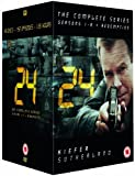 The Complete 24 TV Series DVD (49 Disc Set) Box Set Collection - Complete Season 1, 2, 3, 4, 5, 6, 7, 8 + TV Movie: Redemption + Extras