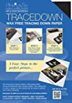 Frisk Tracedown A4, Pack of 5, Assort...