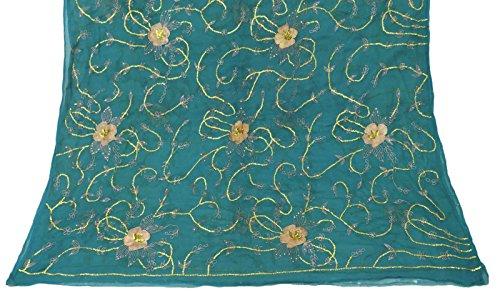 jahrgang-dupatta-langer-indien-schal-reiner-chiffon-silk-gestickter-stoff-blauer-hijab