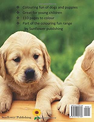 Colouring Fun: A fun colouring book on dogs and puppies. Great for adults and children. Fantastic gift for a birthday or christmas: Volume 6