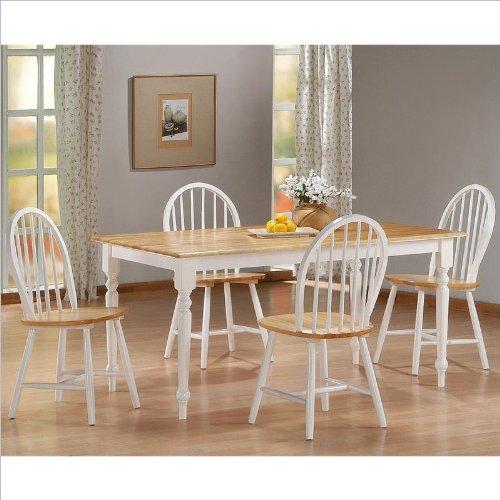 Boraam 80369 5-Piece Farmhouse Dining Room Set