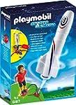 PLAYMOBIL 6187 - Rakete mit Spring-Bo...