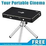 Optop Home Theater Projector Pro DLP, Smart Mini Pico Portable Video Projector, HDMI Bluetooth WIFI Wireless Connectivity...