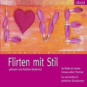 Flirten mit Stil Hörbuch