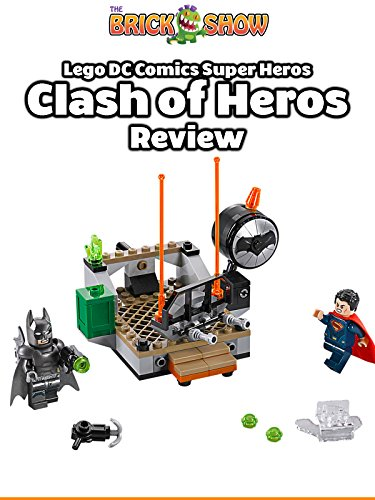LEGO DC Comics Clash Of The Heroes Review (76044)