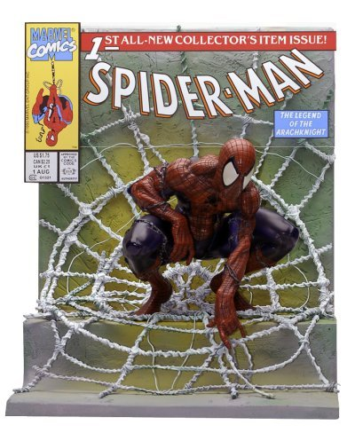 Buy Low Price Master Replicas Spider-Man #1 Comic Book Scene Replica by Master Replicas Figure (B000SMWY4U)