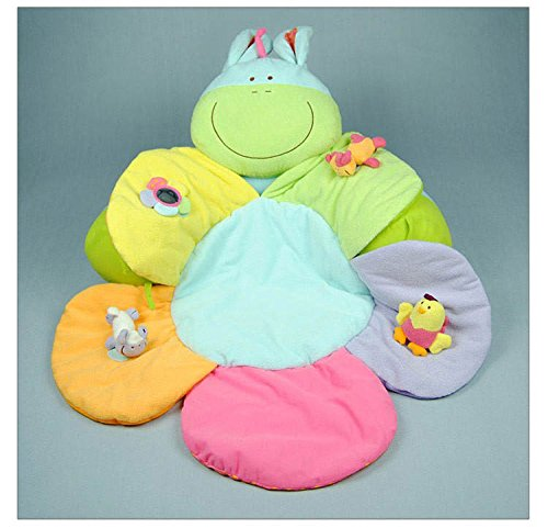 Baby Inflatable Sofa Play Mat Blossom Farm Wooly Play Game Pad Baby Chair