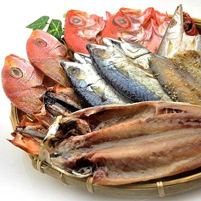 全品国内産 干物 9種類 18枚 セット (金目鯛 連子鯛入り)※サンマ は岩手県産