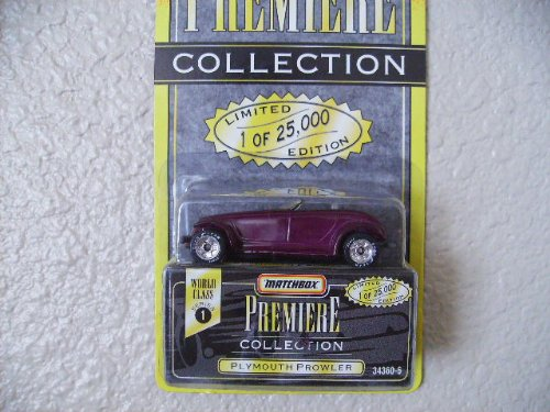 matchbox premiere collection purple plymouth prowler series 1 25000 - 1