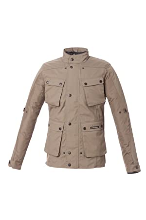 Tucano Urbano 8855db7 Giacca Trip AB - Waterproof, Breathable, Touring Jacket, Dark Beige, Taille XXL