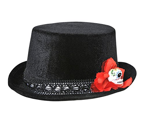 Day Of The Dead Mens Top Hat