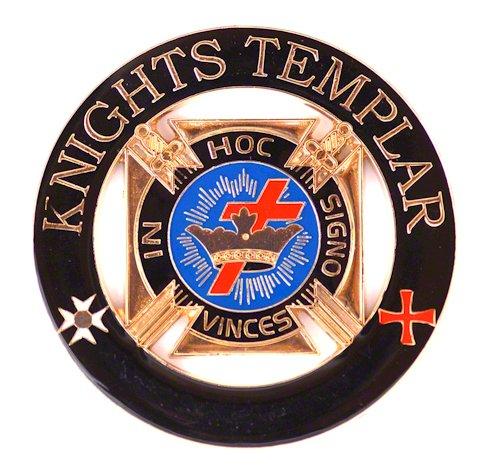 [해외]프리메이슨 Exchange 기사 기사단에서의 Signo Vinces Auto Emblem Car Decal/Masonic Exchange Knight Templar In Hoc Signo Vinces Auto Embl
