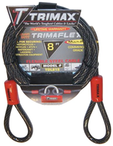 Trimax TDL815 Trimaflex 8′ X 15mm Dual Loop Multi-Use Cable