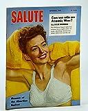 img - for Salute Magazine, September (Sept.) 1947, Vol. 2, No. 9 - Abortion Racket Menace / Can We Win an Atomic War? / Mel Torme book / textbook / text book
