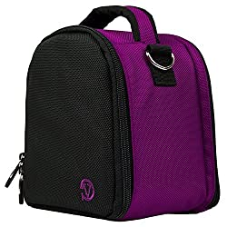 Vangoddy Nylon Purple Camera Pouch