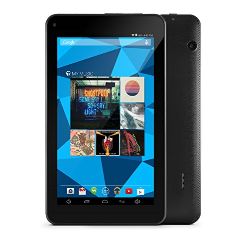 Ematic EGD172BL Dual-Core with Android 4.4, Kit Kat and Google Play 7-Inch 8 GB Tablet