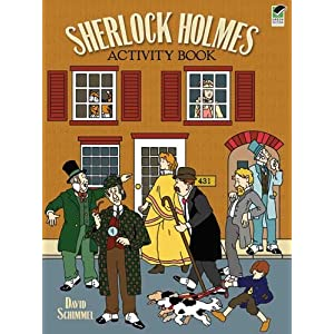 Sherlock Holmes Activity Book (Dover Children's Activity Books)