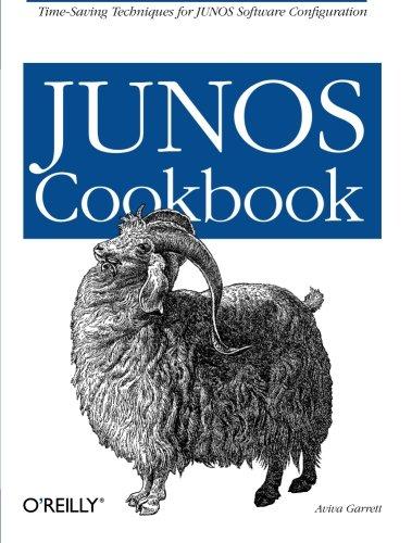 Junos Cookbook (Cookbooks (O'Reilly)) front-817145