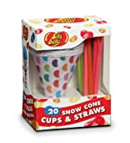 Jelly Belly 20 Cups and Straws (JB15928)