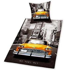 herding 445960050 parure housse de couette 135 200 taie 80 80 c. Black Bedroom Furniture Sets. Home Design Ideas