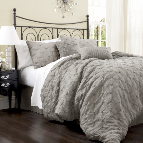 Gray Bedding Sets 7459 front