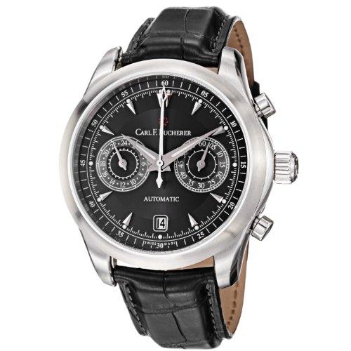carl-f-bucherer-mens-0010910083301-manero-black-chronograph-dial-and-strap-watch
