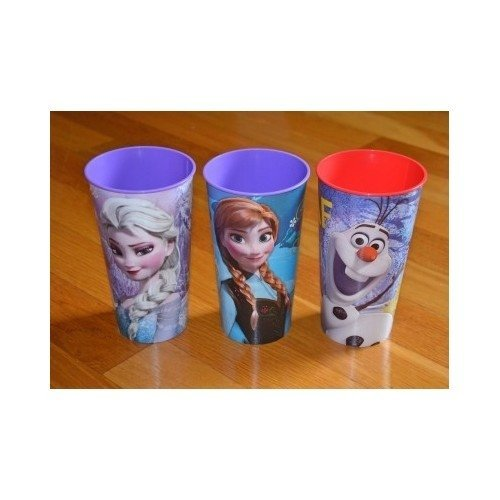 Disney Frozen Party Cup 32oz. Elsa, Anna and Olaf Set of 3 Beverage Drinking Cups (Disney Frozen Drinking Cups compare prices)