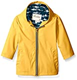 Hatley Boys' Yellow Great White Sharks Splash Jacket