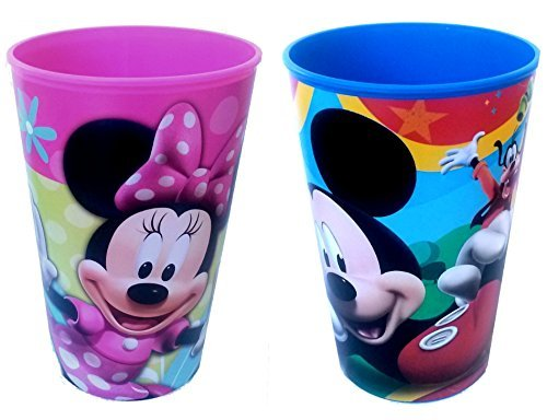 Disney Mickey & Minnie Mouse Plastic Party Cups - 1