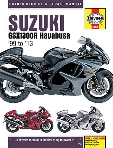 Suzuki GSX1300R Hayabusa Service and Repair Manual: 1999-2013 (Haynes Service and Repair Manuals)