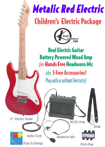 Kay Keam-Mr Children'S Guitar Package