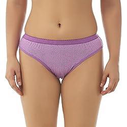 Gujarish Attractive Purple Cotton Panties