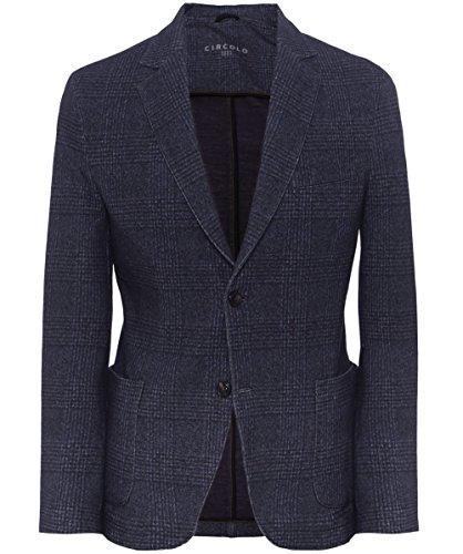 Circolo 1901 Uomo Giacca di Tweed di cotone Blu 48