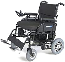 "Hot Sale Wildcat 450 Folding Power Wheelchair Seat Size: 24"""