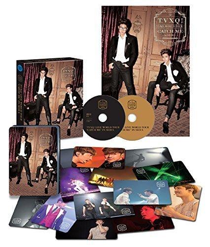 東方神起 THE 4th WORLD TOUR Catch Me In Seoul DVD ( リージョンコードALL / 日本語字幕付 )( 限定特典3点付 )( 韓メディアSHOP限定 )