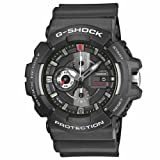 Casio G-Shock Gac-100-1aer Watch - Black