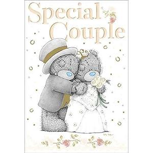 Special Couple Wedding Giant Me To You Bear Card Amazon
