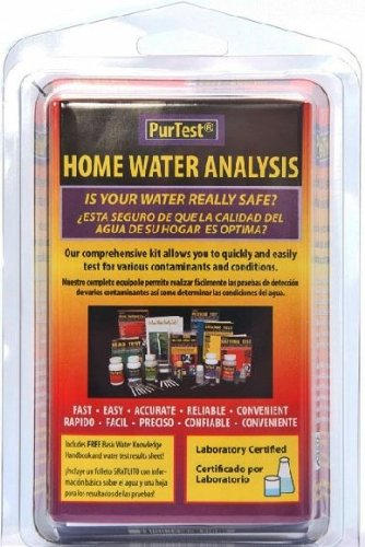 PurTest Home Drinking Water Analysis Test Kit - 11 Contaminants