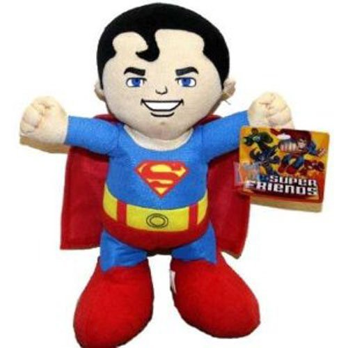 1 X Superman Plush Toy - DC Super Friends Doll (13 Inch) - 1