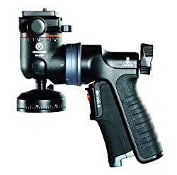 GH-300T Tripod Head Gun Type with shutter release Trigger