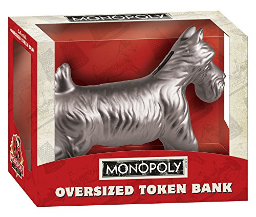USAopoly Monopoly: Oversized Dog Token Bank