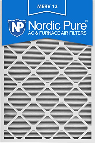 Nordic Pure 20x30x2M12-3 MERV 12 Pleated Air Condition Furnace Filter, Box of 3 (Furnace Filter 12 X 30 compare prices)