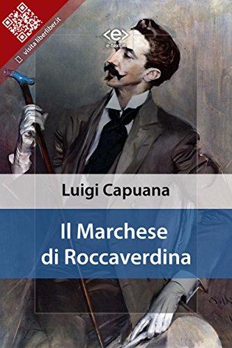 Il marchese di Roccaverdina PDF