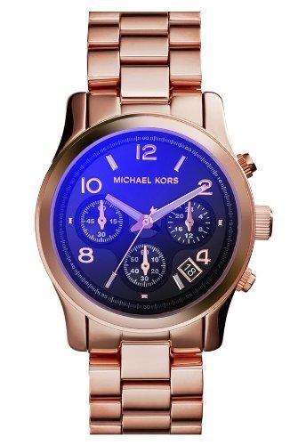 Michael Kors Runway Iridescent Dial Rose Gold-Tone Ladies Watch Mk5940 front-678877