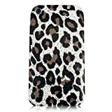 Xtra-FUnky Exclusive Leopard Print Textured Case Cover For Apple iPhone 3G & 3GS (iPHONE 3G - 3GS, Grey - Brown - Black)by Xtra-Funky