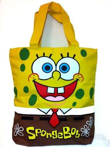 スマップ香取慎吾君大好きスポンジボブエコバッグ Spongebob キャンバストートバッグ エコバッグ