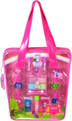 My Princess Academy / 14-piece Makeover Set in Clear Tote